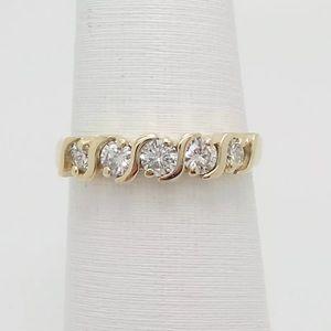 Jewelry - 1/2 carat 14k yellow gold diamond ring